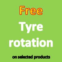 Free tyre rotation